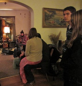 Home sweet home: The intimacy of house concerts was on display this weekend as part of Lamp Light Music Festival.