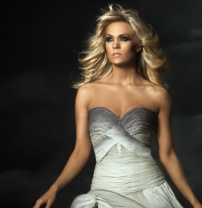 Carrie Underwood and her hair blow into Grand Rapids this week.