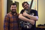 Childhood Pals: Jason Roy and Steven Meltzer of Elroy Meltzer. (Photo/David Specht)
