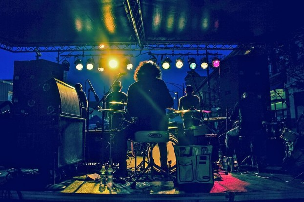 Gritty, Grass-Roots Latin-American Music: Dos Santos: Anti-Beat Orquesta plays Grand Rapids this week.