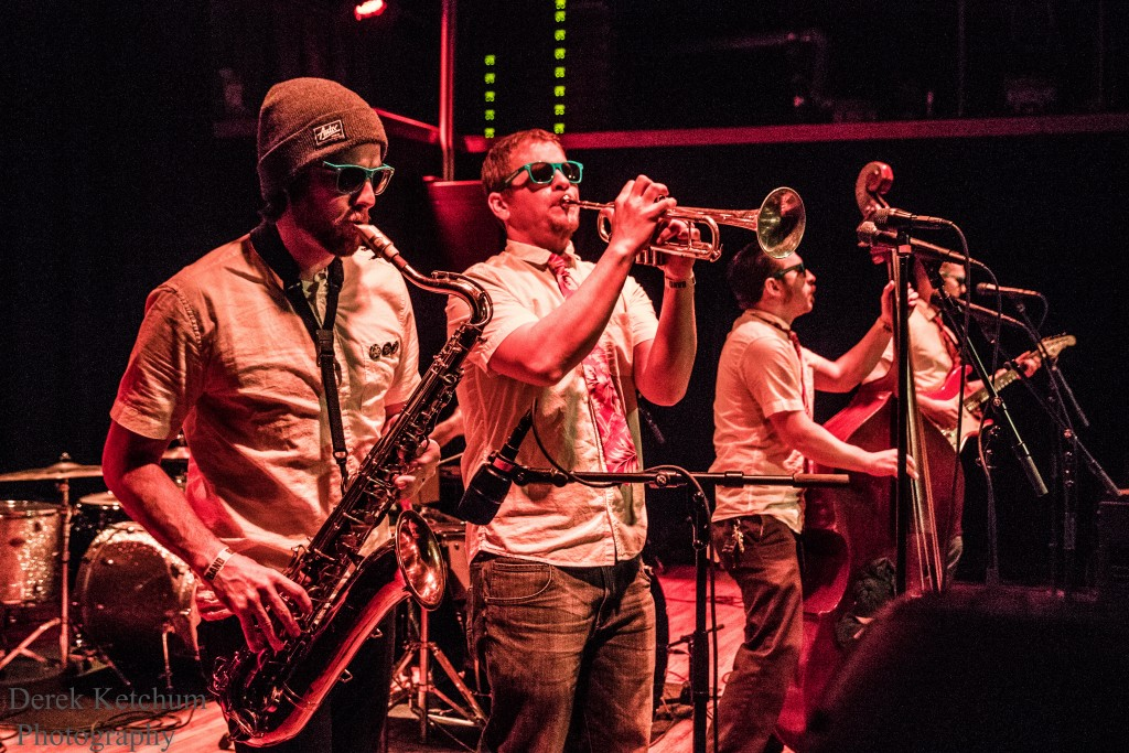 Bringing Ska to Jake's: The Sailor Kicks will perform during the April festival at Wealthy Theatre. (Photo/Derek Ketchum)