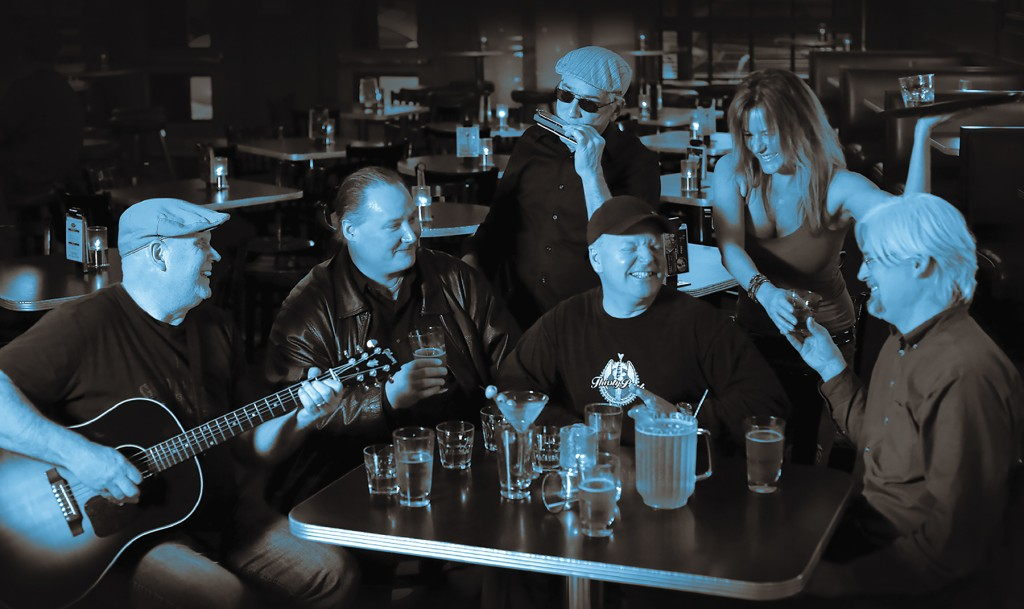 "Still Bringing the Blues: Thirsty Perch Blues Band has been unleashing ""rockin' blues"" since 2008. (Photo/Michael Koole)"