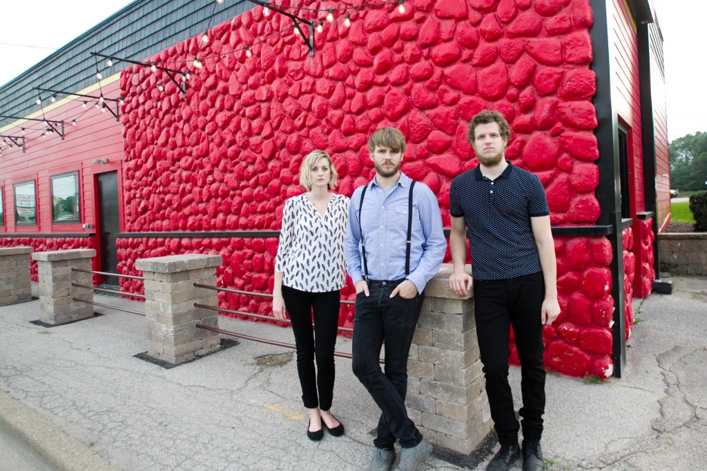 Indie-Rock Siblings: Laura Ogren, Dave Zagar and Andy Zagar of Rival Maps.