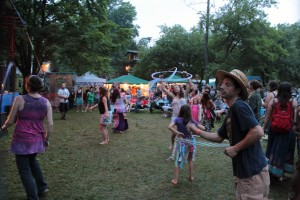 Family-Friendly Atmosphere: Buttermilk Jamboree. (Photo/Anna Sink)